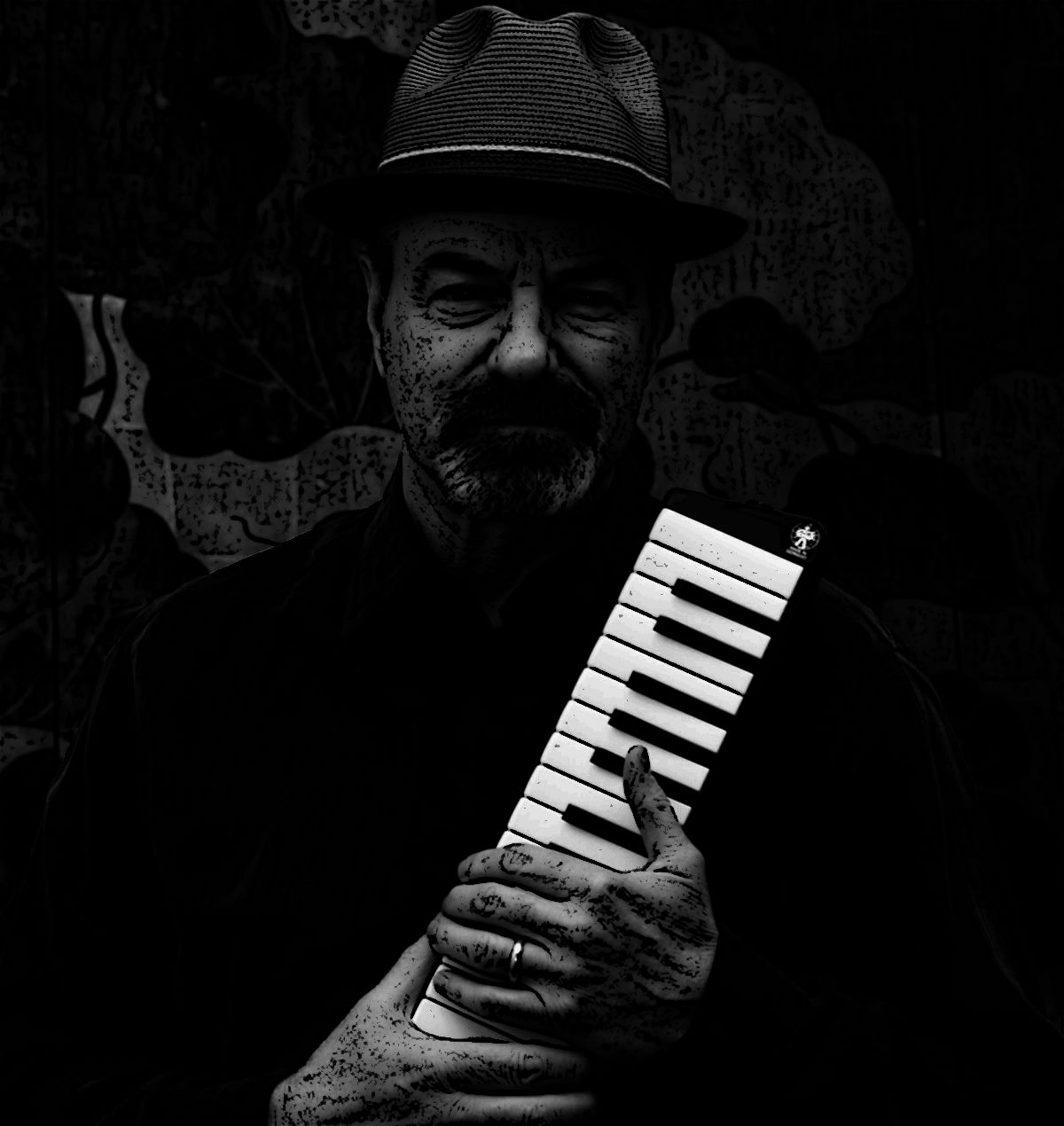 Man and Melodica